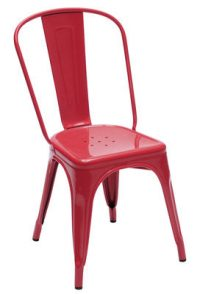 Red Chair Tolix Xavier Pauchard 1