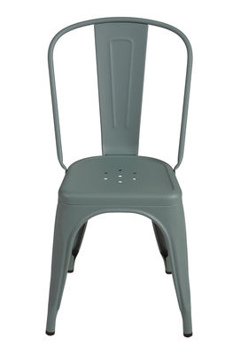 Chair A Lichen granulated green Tolix Xavier Pauchard 1