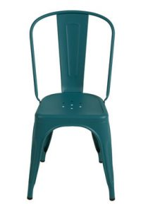 Chair A Green opaque granulated Tolix Xavier Pauchard 1