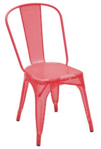 Chair Tolix AA Red Chantal Andriot 1