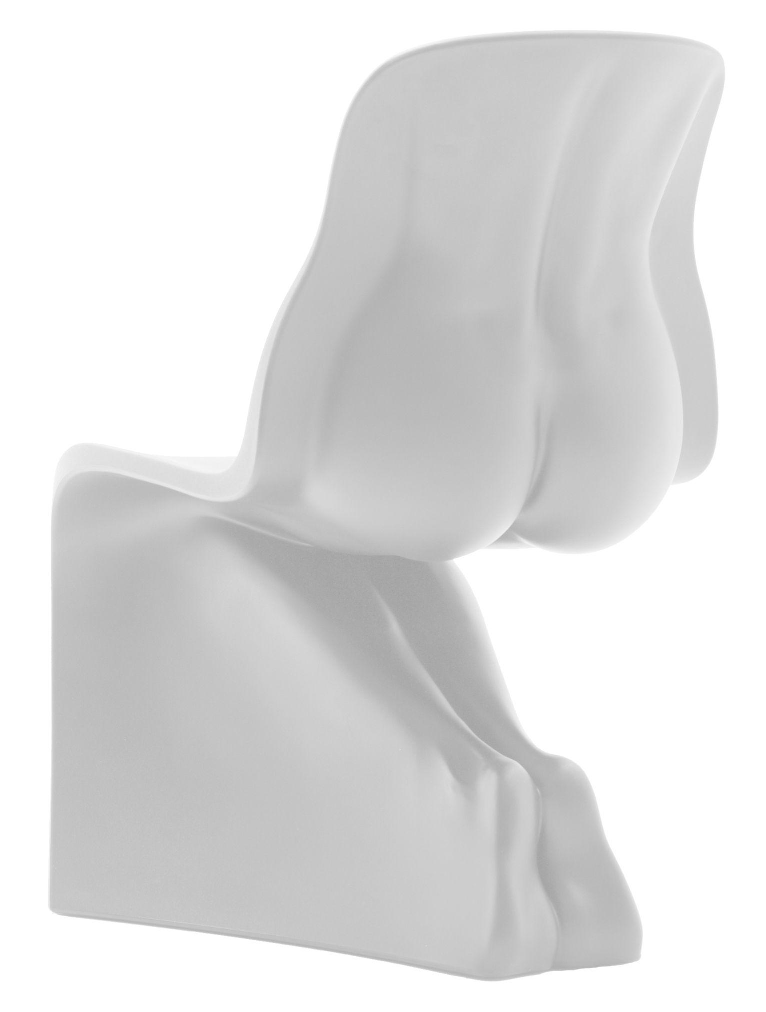 Sa chaise blanche Casamania Fabio Novembre