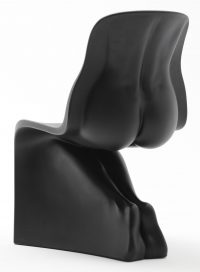 Her Chair Black Casamania Fabio Novembre