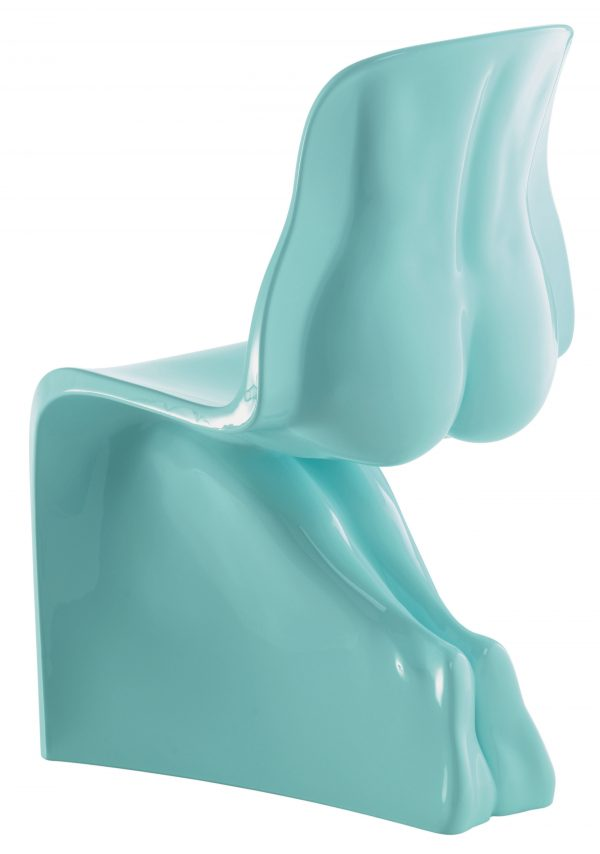 Sua cadeira - Casamania Light Blue versão lacada Fabio Novembre
