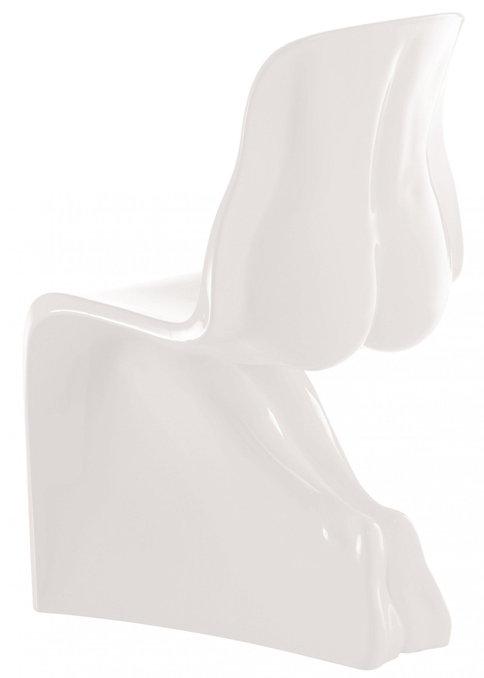 Su silla - versión lacada en blanco Casamania Fabio Novembre
