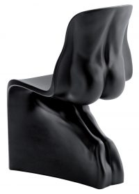 Him Black Casamania Chair Fabio Novembre