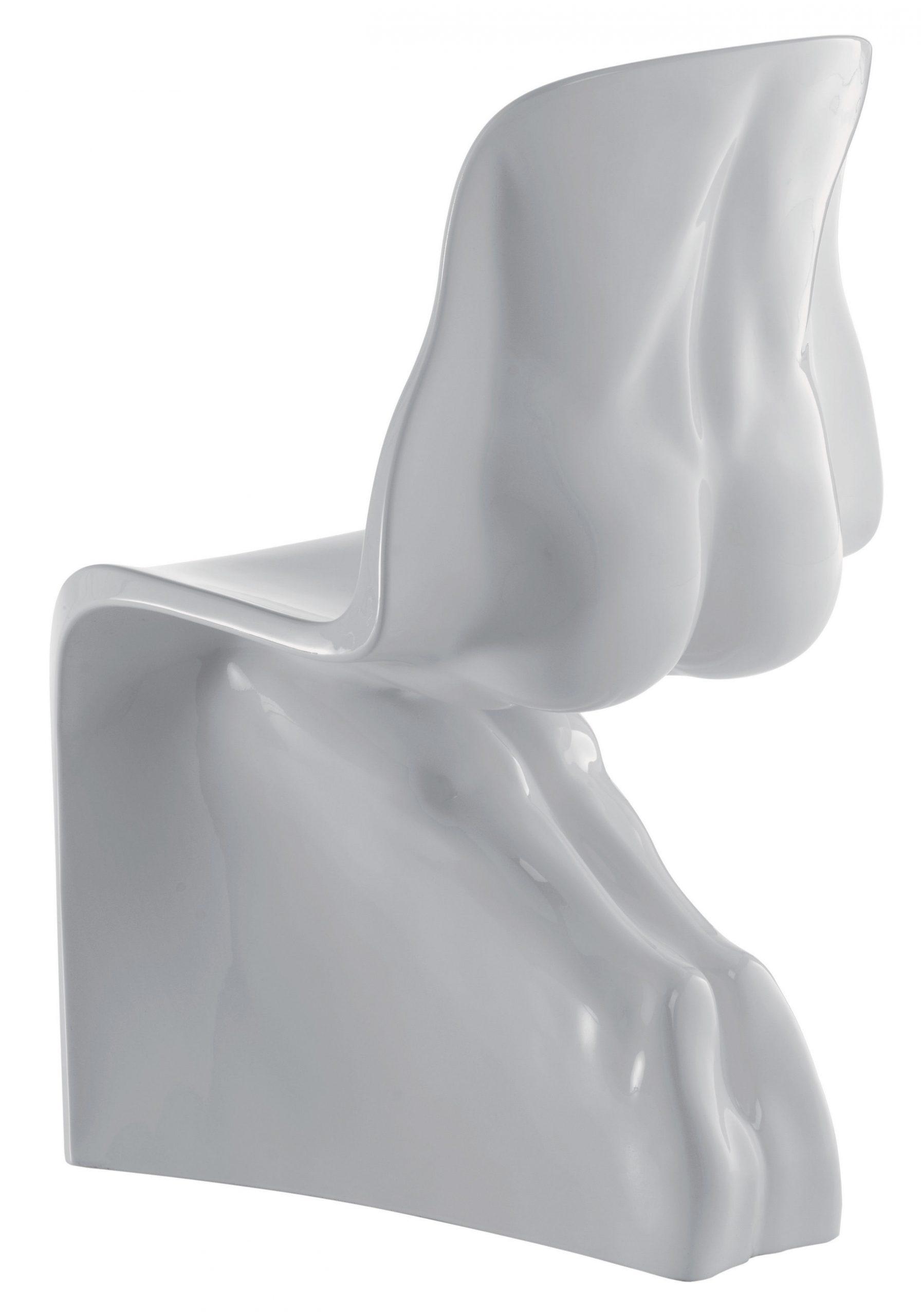 彼の椅子-ホワイトカサマニアファビオノベンブレラッカー塗装バージョン