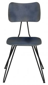Chair Overdyed Blue indigo Diesel with Moroso Diesel Creative Team 1