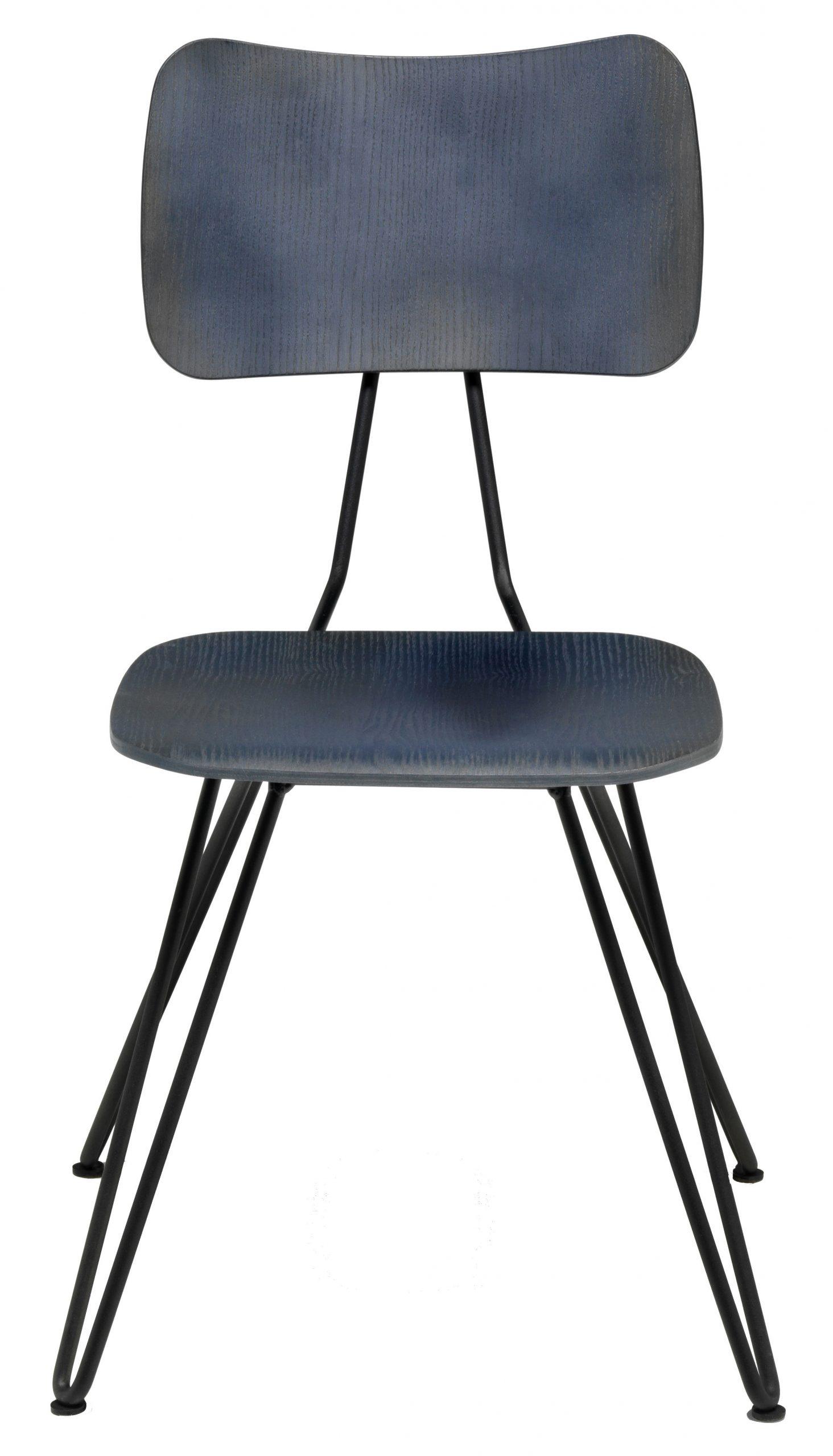 silla Overdyed Indigo Diesel azul con Moroso Diesel equipo creativo 1