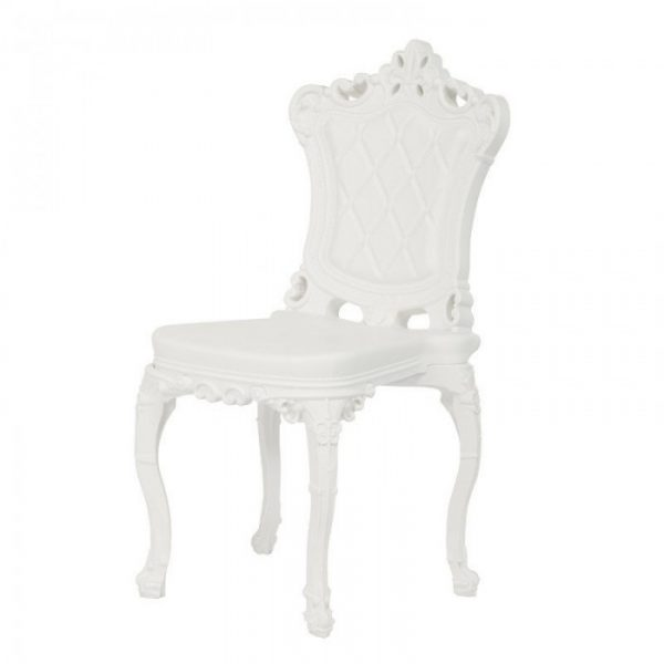 Princess Of Love Chair White Slide Moropigatti 1