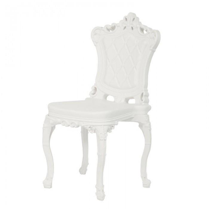 プリンセスオブラブチェアホワイトスライドモロピガッティ1