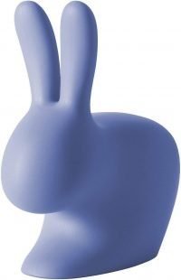 Rabbit Chair Light blue Qeeboo Stefano Giovannoni 1