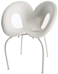White Ripple Chair Moroso Ron Arad 1