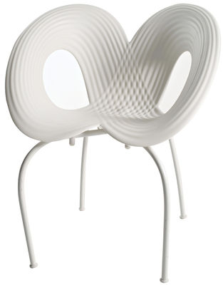 Blanc Ripple Chair Moroso Ron Arad 1