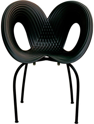 Black Ripple Chair Moroso Ron Arad 1
