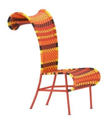 Sombría silla amarilla | Rojo | naranja | Marrón Moroso Tord Boontje 1