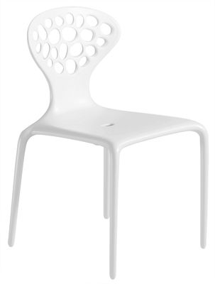 White Supernatural chair Moroso Ross Lovegrove 1