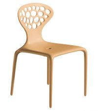 Supernatural chair Moroso Ross Lovegrove Caramel 1
