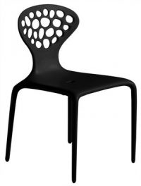 Black Supernatural chair Moroso Ross Lovegrove 1
