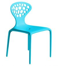 Turquoise Supernatural chair Moroso Ross Lovegrove 1