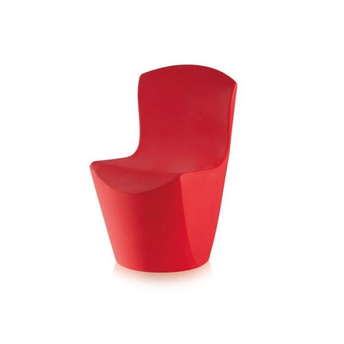 Silla Zoe Sl Rojo Slide Guglielmo Berchicci 1