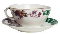 Conjunto de xícaras de chá Seletti Hybrid Isidora Multicolor CTRLZAK