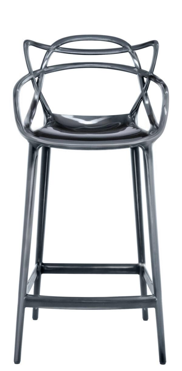 マスターズハイスツール-H 65 cmチタンカルテルフィリップスタルク| Eugeni Quitllet 1