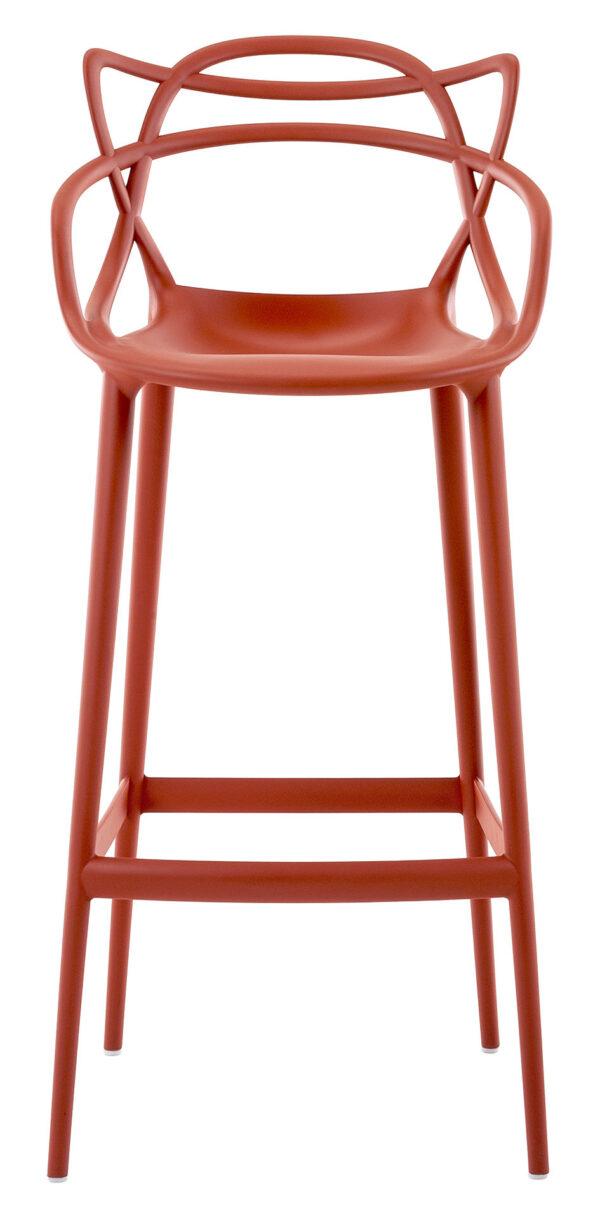 Masters poupou segondè - H 75 cm Rouj zoranj Kartell Philippe Starck | Eugeni Quitllet 1