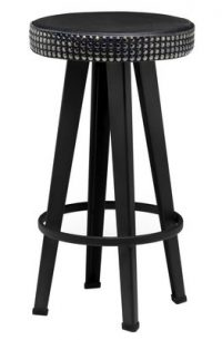 High stool Stud Black Diesel with Moroso Diesel Creative Team 1