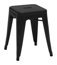 Low stool H - H cm Black 45 1 Tolix Xavier Pauchard