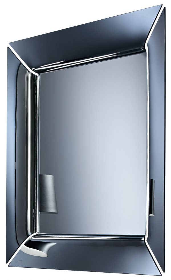 Caadre Spiegel - 105 x 105 cm Silber FIAM Philippe Starck