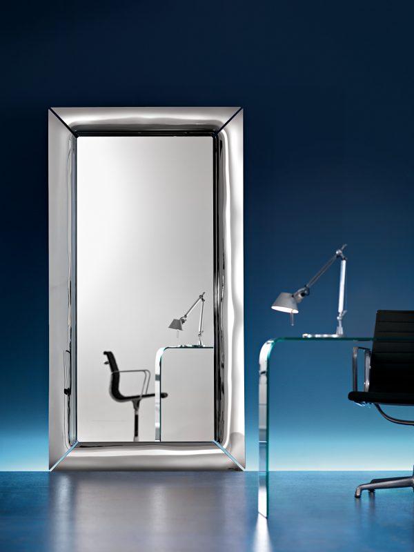 Iwa Caadre - 105 x 195 cm Silver FIAM Philippe Starck