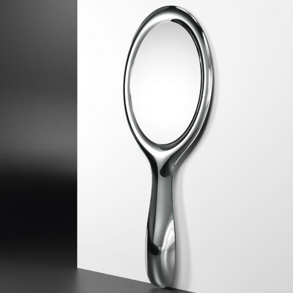 Espelho de pirulito de prata FIAM Marcel Wanders
