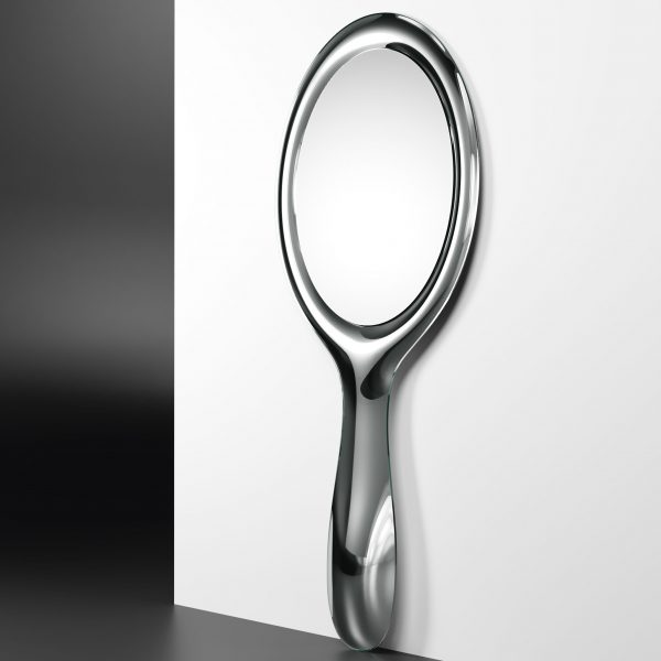 Specchio Lollipop Argento FIAM Marcel Wanders