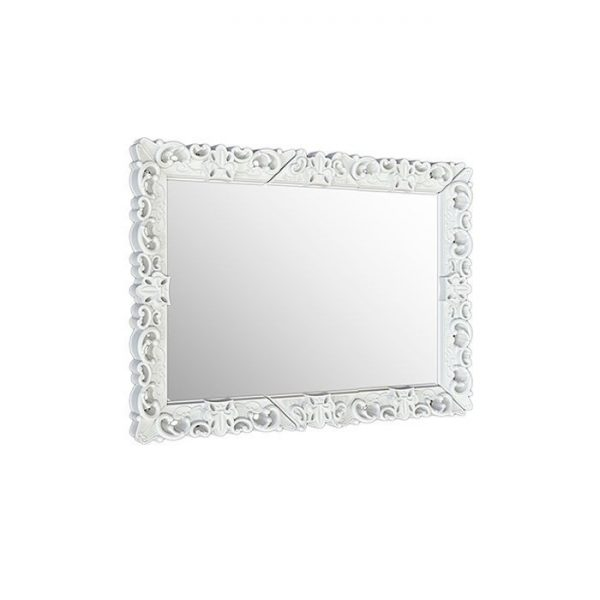Mirror Of Love Xl Blanc Miroir Slide Moropigatti 1