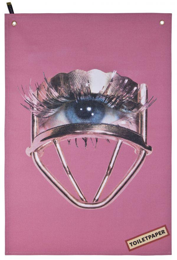Strofinaccio Toiletpaper - Eye Multicolore|Rosa Seletti Maurizio Cattelan|Pierpaolo Ferrari