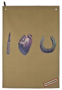 Απορρυπαντικό για ταπετσαρίες - Σ 'αγαπώ Πολύχρωμο | Seletti μπεζ Maurizio Cattelan | Pierpaolo Ferrari
