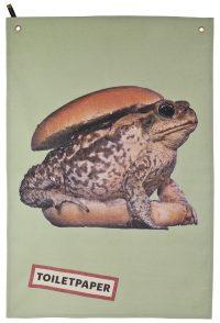 Toiletpaper dishcloth - Multicolored Toad | Seletti Beige Maurizio Cattelan | Pierpaolo Ferrari