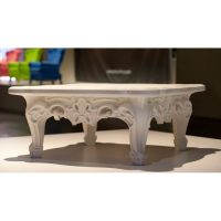 Duke Of Love White Coffee Table Slide Moropigatti 1