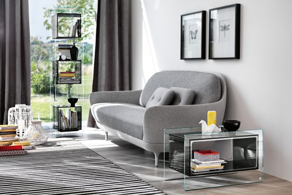 Magique Side Table Smoke Gray | Διαφανές FIAM Studio Klass