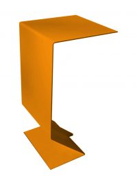 Kafe Table Mak Orange Moroso Marc Thorpe 1