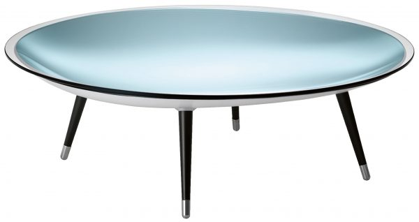 Table basse Roy Noir | Argent | Transparent FIAM Massimiliano & Doriana Fuksas