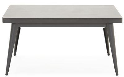 Tavolino basso 55 / 90 x 55 cm Nero Tolix Jean Pauchard 1