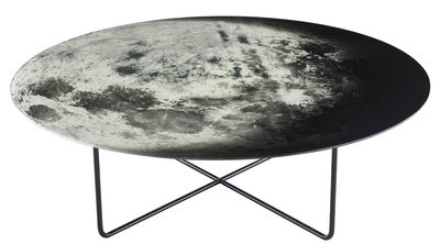 Coffee table My moon White | Gray | Black Diesel with Moroso Diesel Creative Team 1