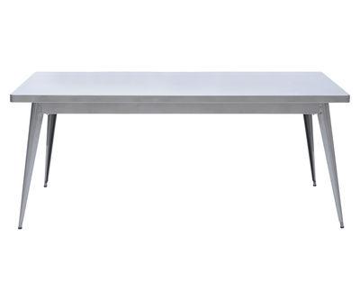 Mesa de acero de color cm de ancho x largo 55 180 90 1 Jean Pauchard Tolix