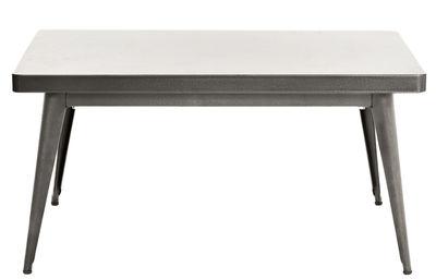 Mesa alta 55 / 90 55 de acero de color x cm brillante Jean Pauchard Tolix 1