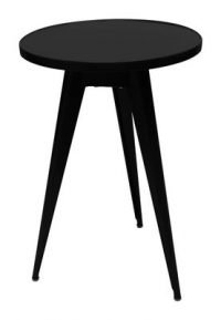 Side Table 55 Black Tolix Jean Pauchard 1