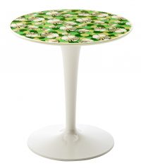 Table d'appoint Tip Top La Double J - Blanc | Ninfea Kartell Philippe Starck | Eugeni Quitllet 1