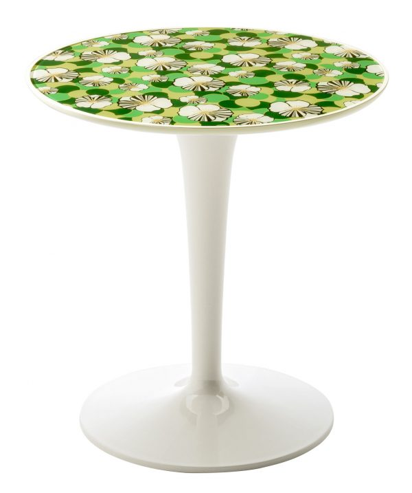 End table Tip Top La Double J - White | Ninfea Kartell Philippe Starck | Eugeni Quitllet 1