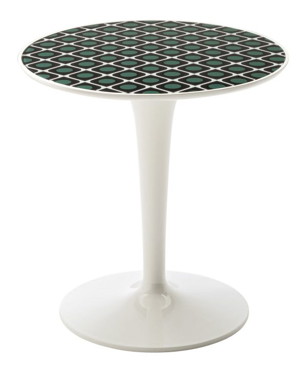 Table d'appoint Tip Top La Double J - Blanc | Olive Kartell Philippe Starck | Eugeni Quitllet 1