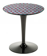 Table d'appoint Tip Top La Double J - Noir | Pic-Nic Kartell Philippe Starck | Eugeni Quitllet 1